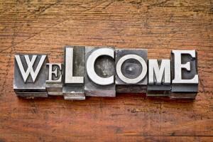 website welcome